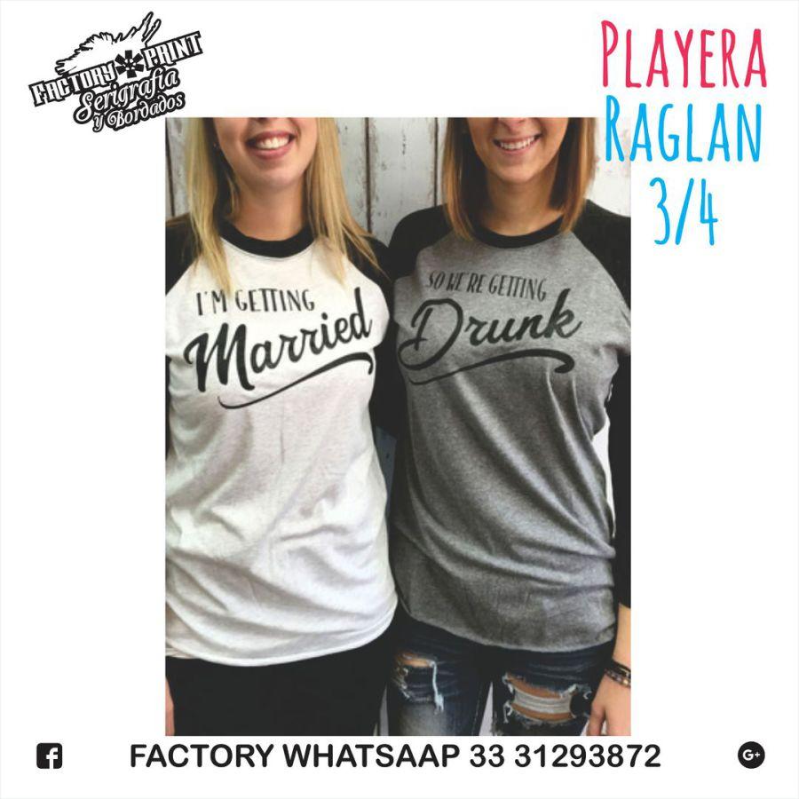 Factory PRINT Serigrafía y Bordados - MANGA TIPO BEISBOLERA 05f1d5123df73